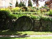 Stone Carvings, Abbey Gardens